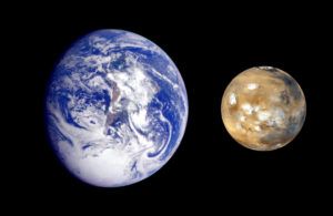 地球と火星