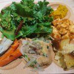 Cafe&Meal MUJIのハーフビュッフェ(北花田イオン)の芋丼