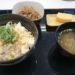 3年ぐらい吉野家を絶っていたが、朝食「豆腐ぶっかけ飯」が美味いらしく行ってきた。