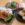 スシロー匠の一皿第2弾、緑の寿司と美味いエビ!